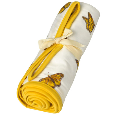 Kyte BABY Swaddling Blanket Infant / Monarch Printed Swaddling Blanket in Monarch