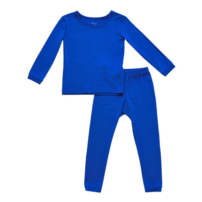 Kyte BABY Toddler Long Sleeve Pajamas Toddler Pajama Set in Indigo