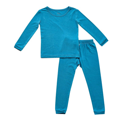 Kyte BABY Toddler Long Sleeve Pajamas Toddler Pajama Set in Lagoon