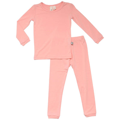 Kyte BABY Toddler Pajama Toddler Pajama Set in Peach