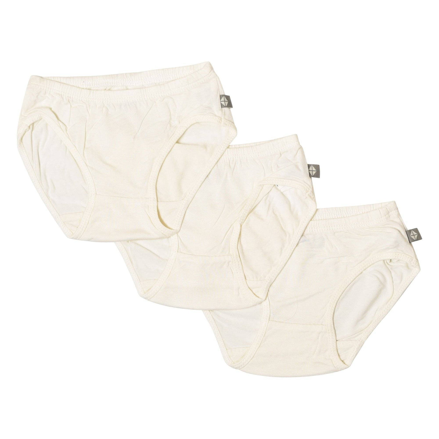3-Pack Undies in Cloud - Kyte Baby