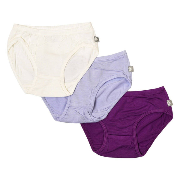 3-Pack Undies in Cloud/Lilac/Berry - Kyte Baby