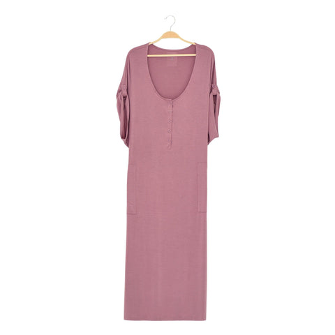 Kyte BABY Women's Lounge Dress Mulberry / XS Women's Lounge Dress Fall Collection