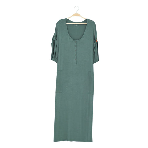 Kyte BABY Women's Lounge Dress Pine / XS Women's Lounge Dress Fall Collection
