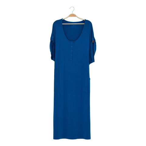 Kyte BABY Women's Lounge Dress Sapphire / XS Women's Lounge Dress Fall Collection