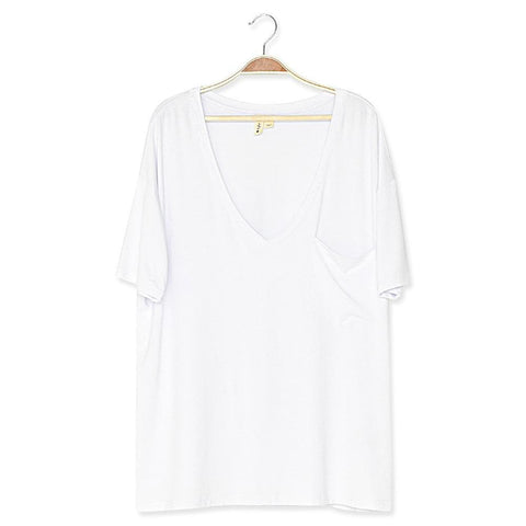 Women's Relaxed Fit V-Neck - Kyte Baby