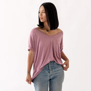 Kyte BABY Women's Tee Women's Relaxed Fit V-Neck Fall Collection