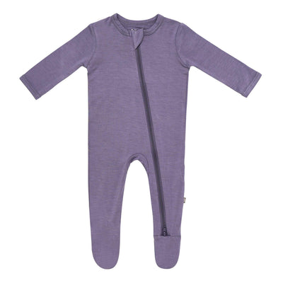 Zippered Footie in Orchid