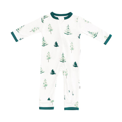 Kyte BABY Zippered Rompers Tree / Newborn Printed Zippered Romper in Tree