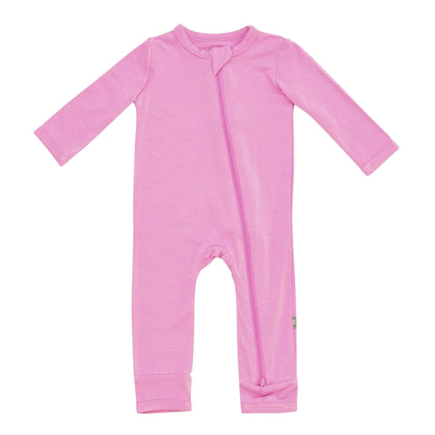 Kyte BABY Zippered Rompers Zippered Romper in Bubblegum