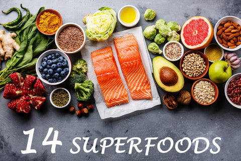 14 Superfoods for Radiant Skin