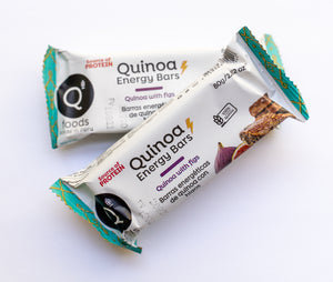 Quinoa with Figs Energy Bar - 6 Pack