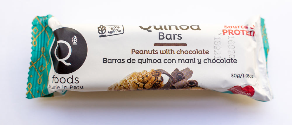Peanuts with Chocolate Quinoa Bars - 6 Pack