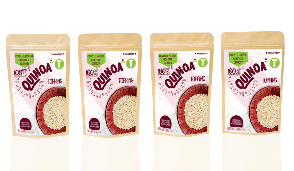 Quinoa Toppings 9 oz 4 Pack