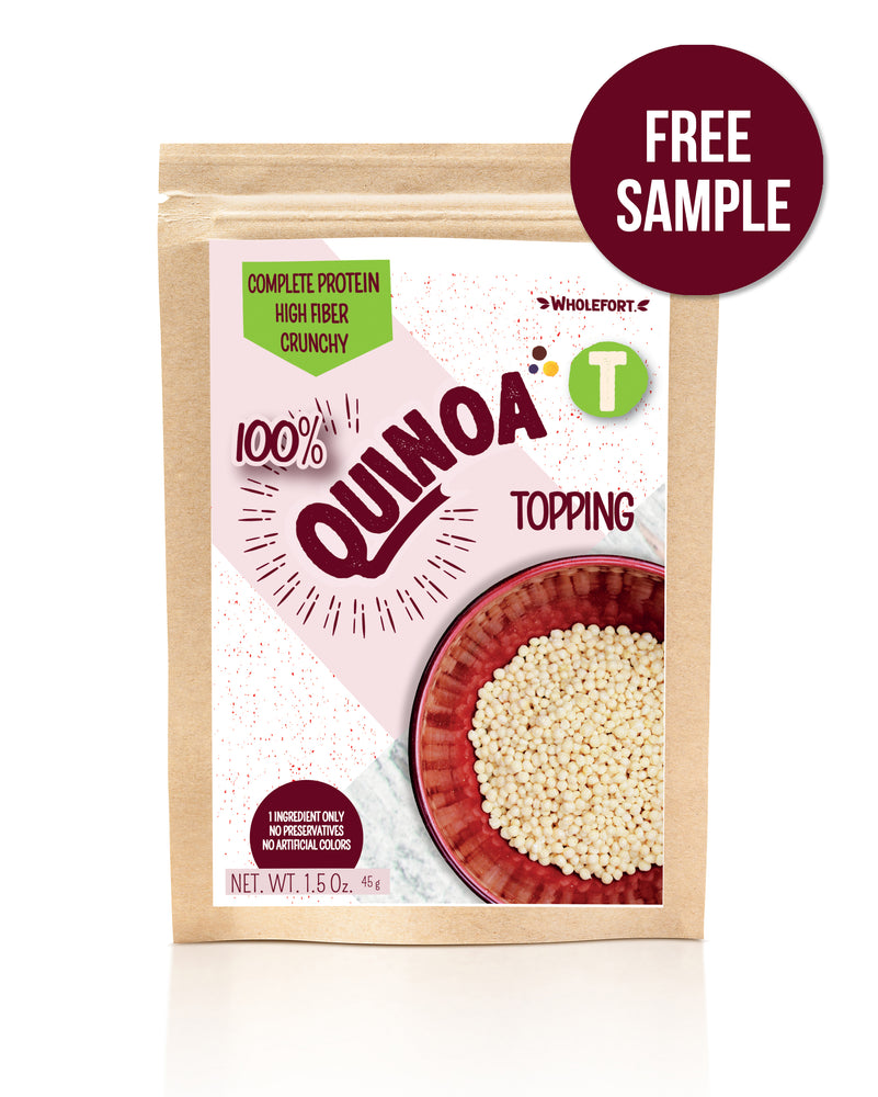 Quinoa Toppings | FREE SAMPLE (1.5 oz.)