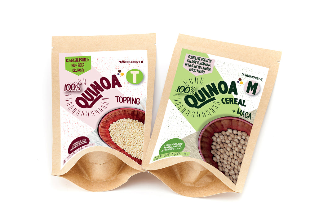 Quinoa M + Maca | FREE SAMPLE (1.5 oz.)