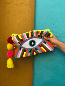 Souvenirs from Cartagena: Embroidered Eye Purse