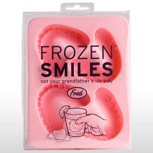 FROZEN SMILES ICE TRAY