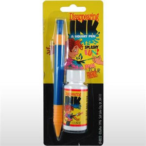 SQUIRT PEN WITH DISAPPEARING INK
