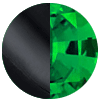 Black Metal|Emerald Swatch