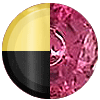 Gold|Black Metal|Ruby Diamondette Swatch