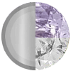 Silver|FEBRUARY Amethyst|White Diamondettes Swatch