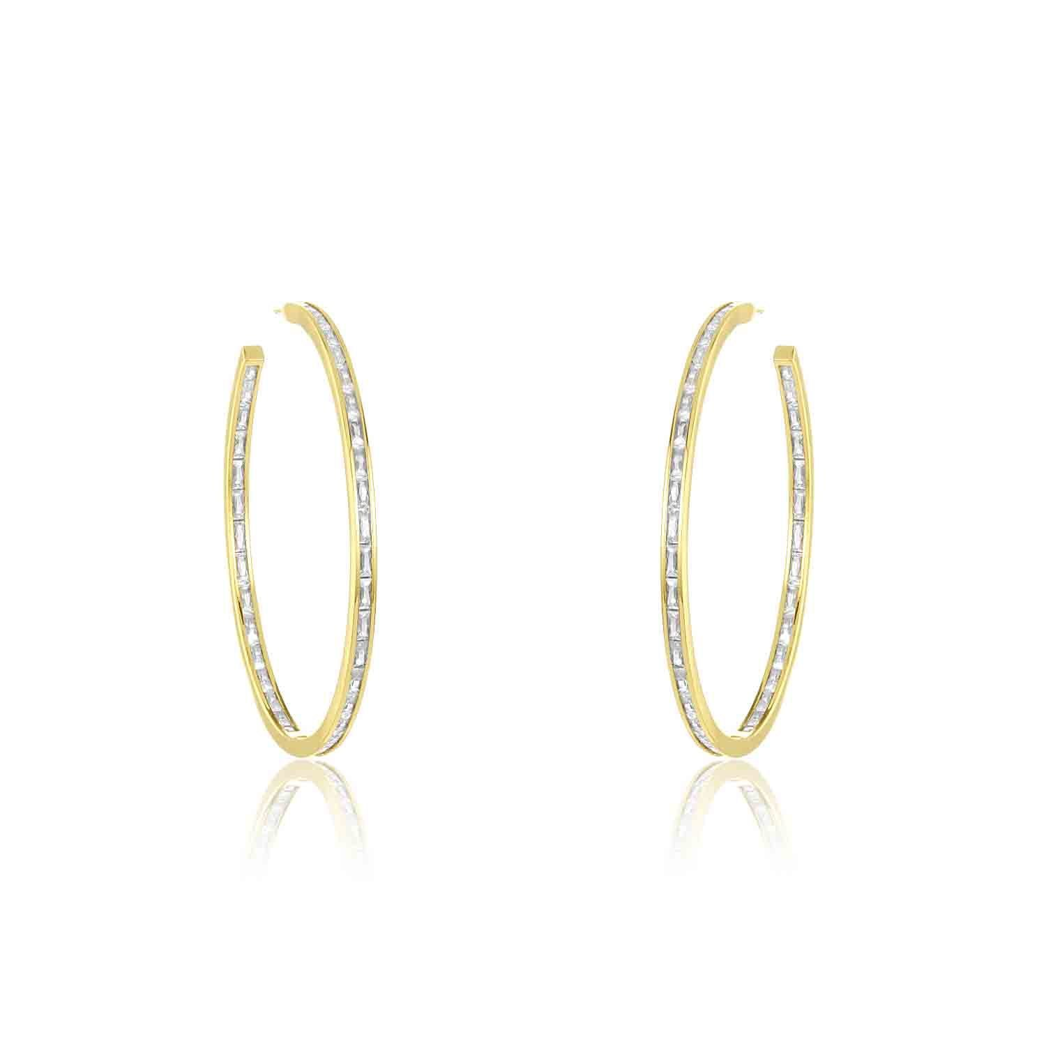 Claire Hoop Earrings