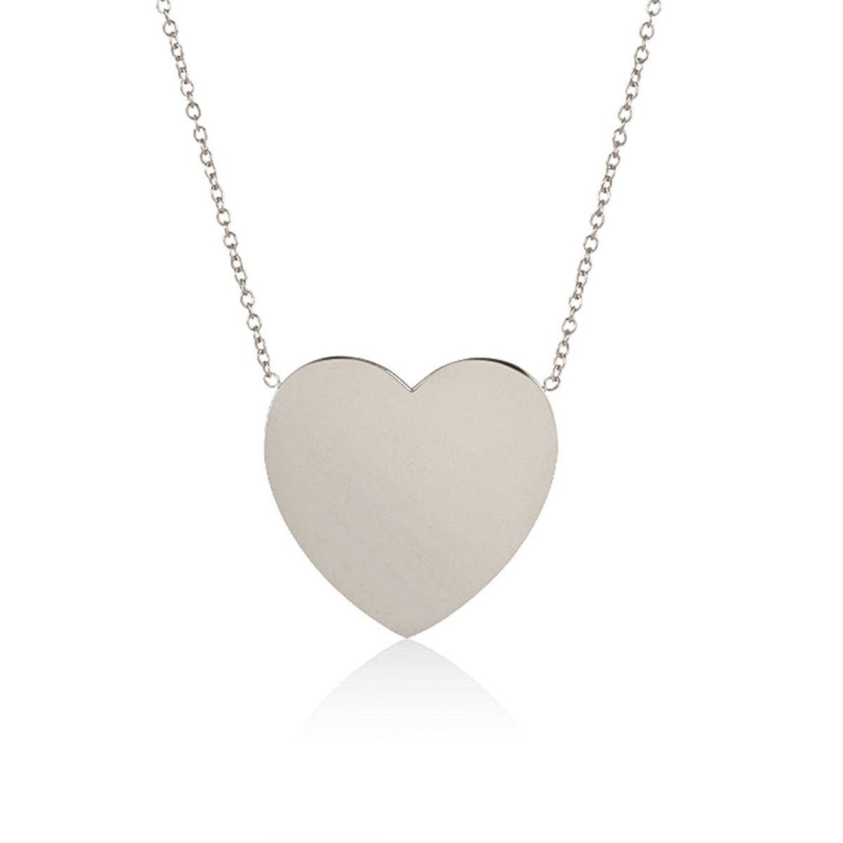 """You Have My Heart"" Solid Sterling Silver Necklace - PRE ORDER: Back in Stock 5/15-6/1!"