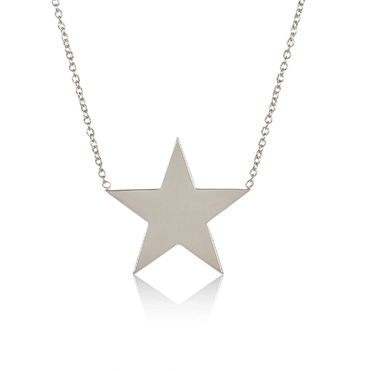"""You Are My Big Star"" Solid Sterling Silver Necklace - PRE ORDER: Back in Stock 5/15-6/1!"