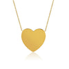 """You Have My Heart"" Solid 14K Gold Necklace"