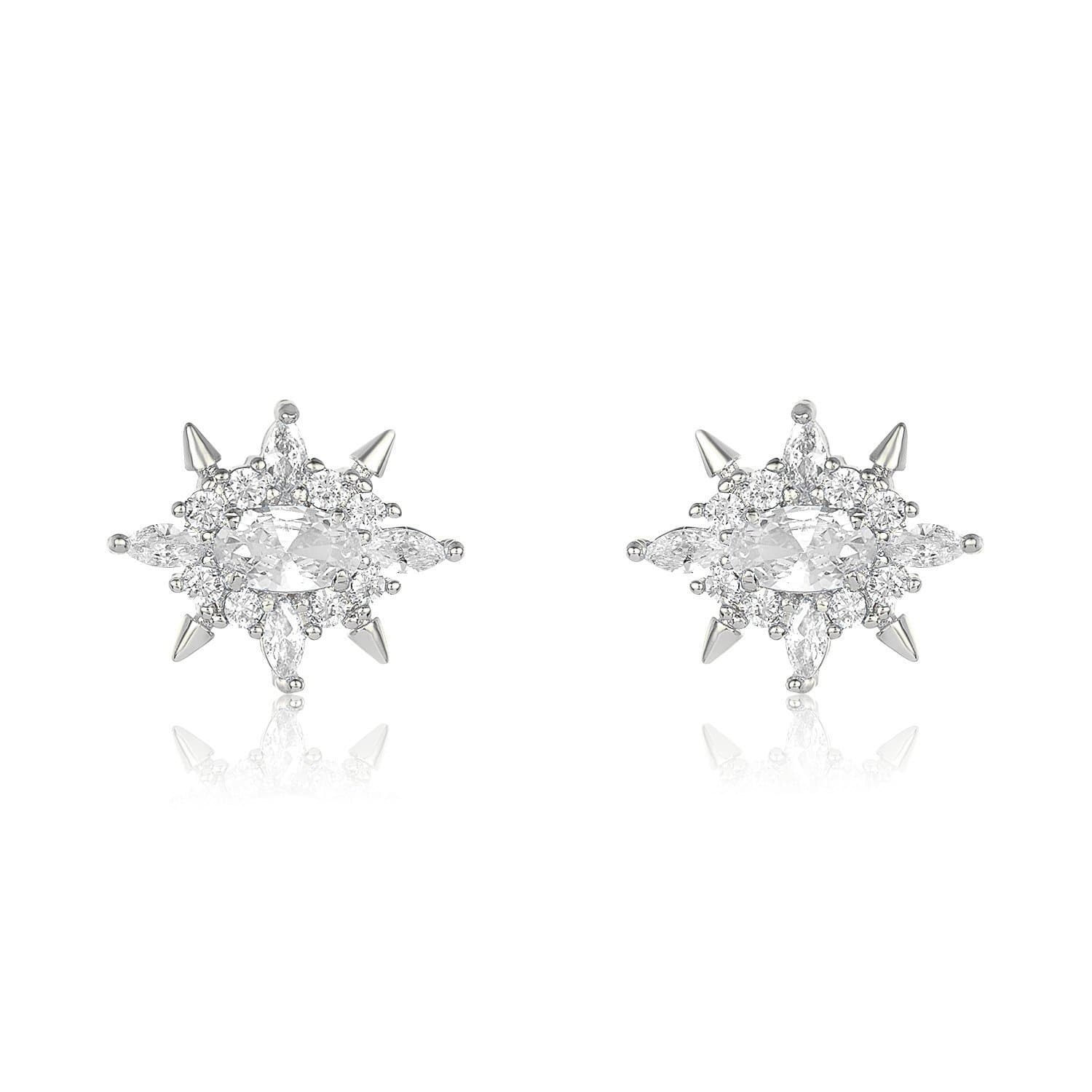 Silver|White Diamondettes