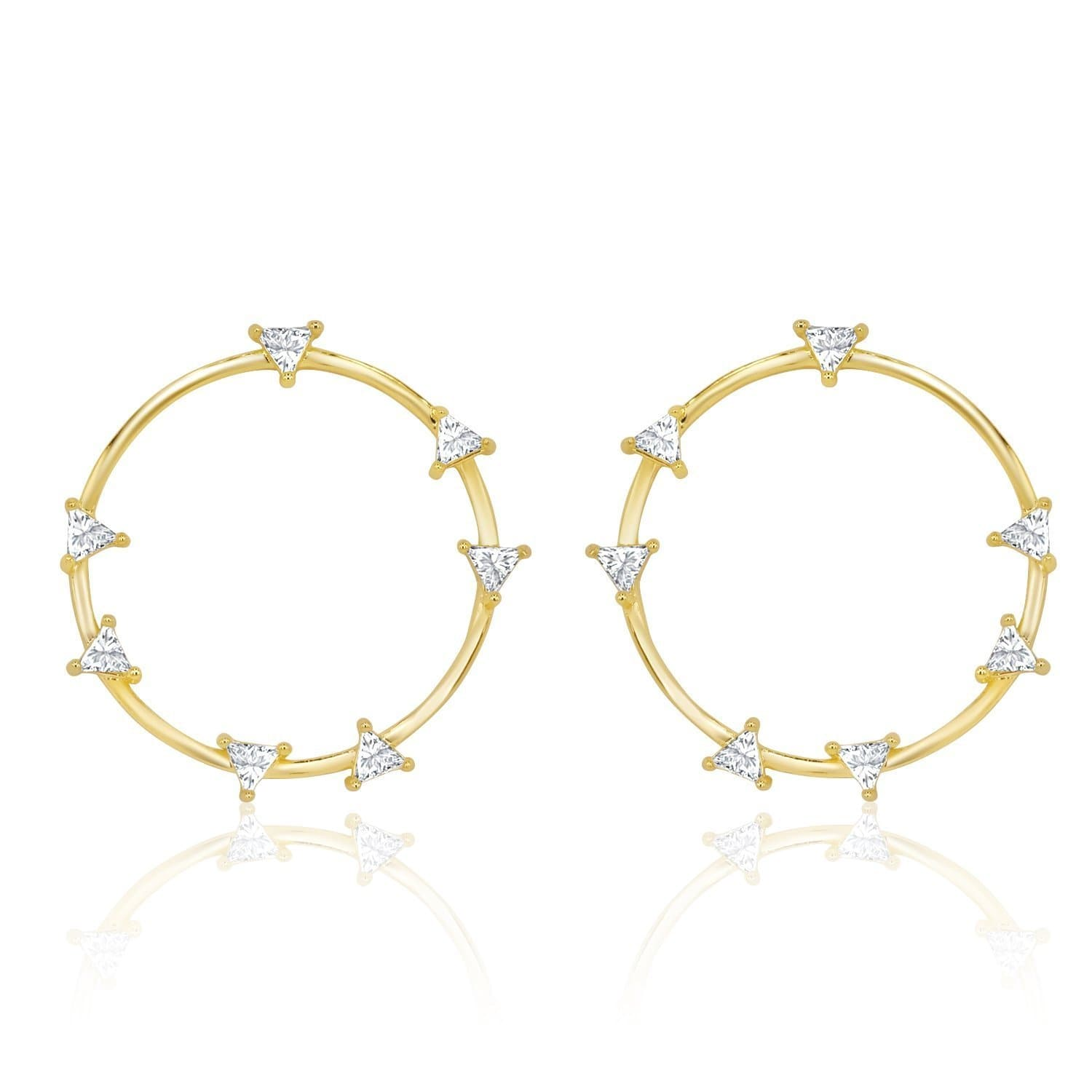 Gold|White Diamondettes