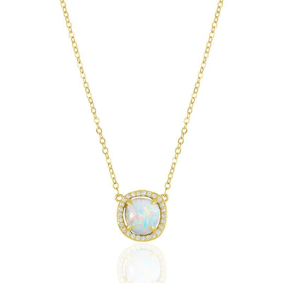 Gold|White Opal|White Diamondettes