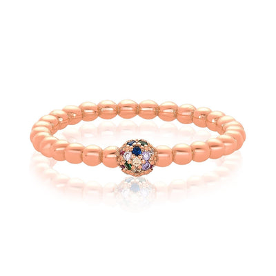 Rose Gold|Rainbow Diamondettes