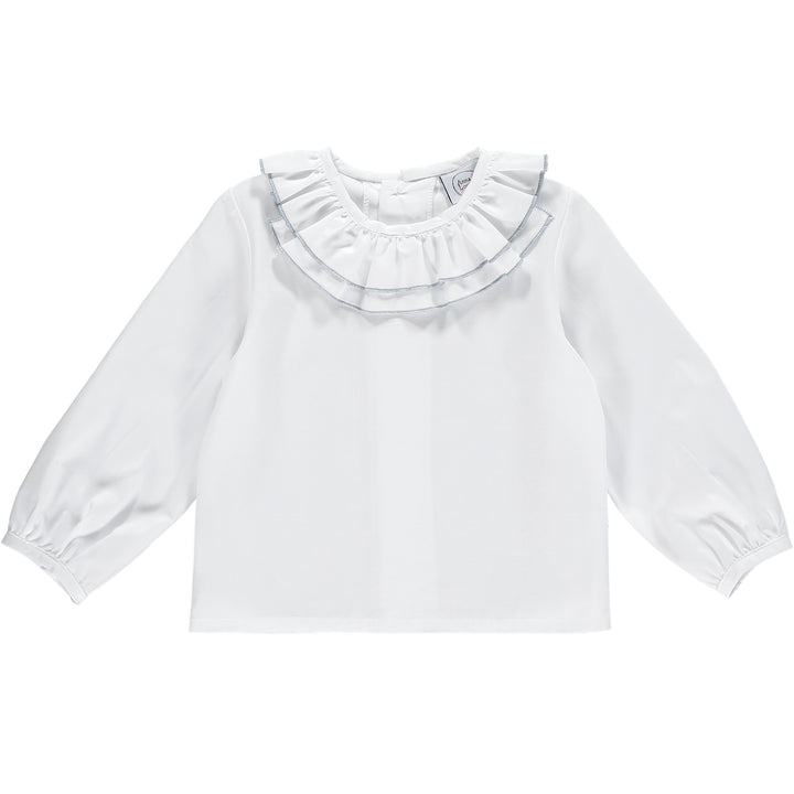 Baby girl white blouse