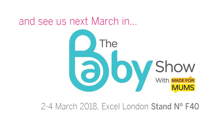 See us next March in The Baby Show at Excel