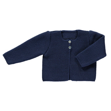 Baby boy navy cardigan
