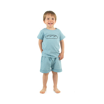 Blue Pull on boy's shorts