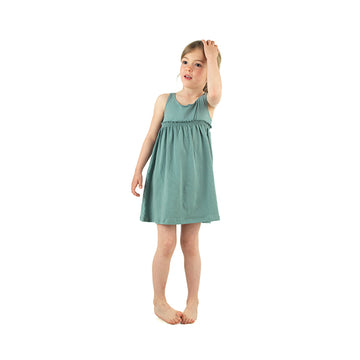 Girls summer dresses (green)
