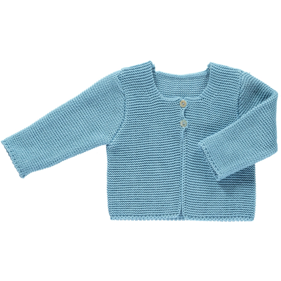Spanish blue baby cardigan
