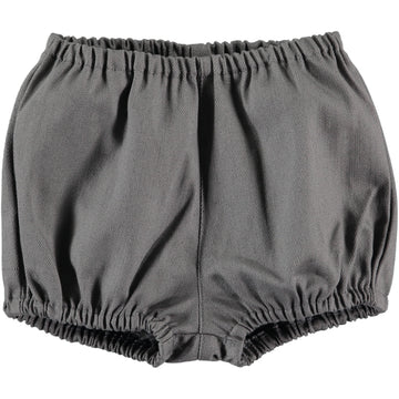 Dark grey baby bloomers