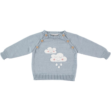 Baby blue summer jumper