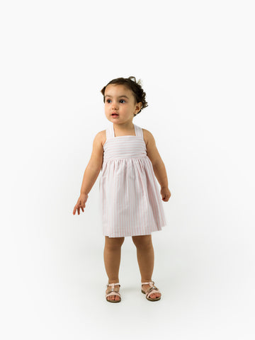 Dusty pink girls dress