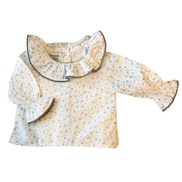 White girls shirt with a star pattern