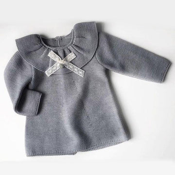 Frill collar baby dress