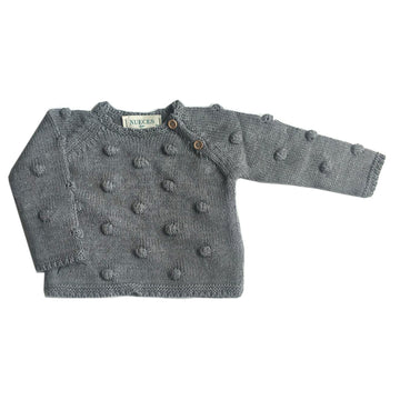 Gray dots pullover
