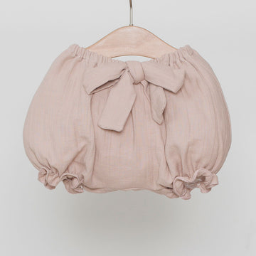 Dusty pink baby bloomers