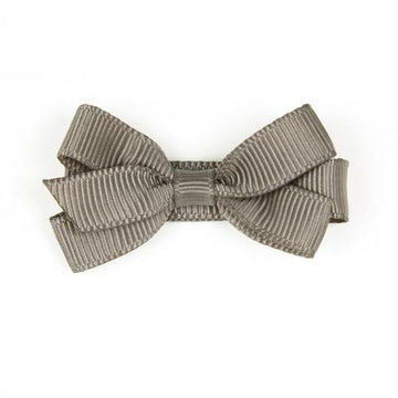 Brown bow hair clip