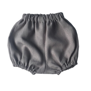 Grey baby bloomers