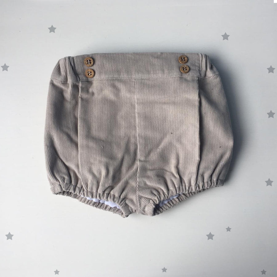 BROWN CORDUROY BLOOMERS